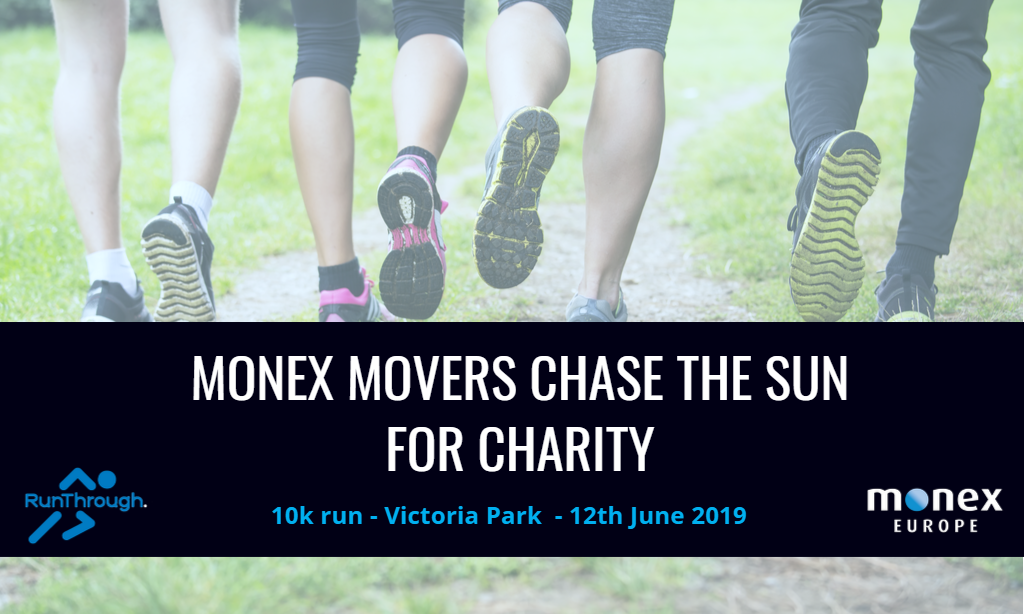 MONEX MOVERS CHASE THE SUN FOR CHARITY