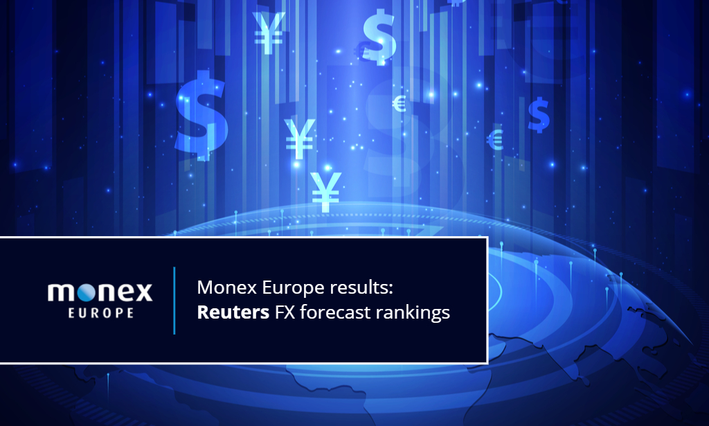 Reuters ranks Monex Europe high in FX Polls