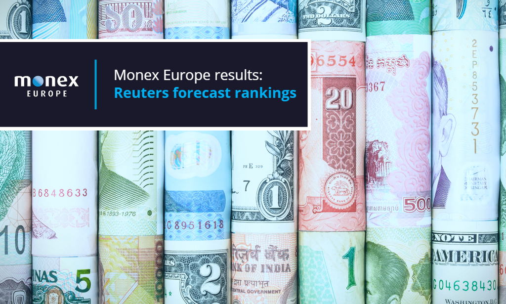 Monex Europe rank high in Reuters monthly FX polls