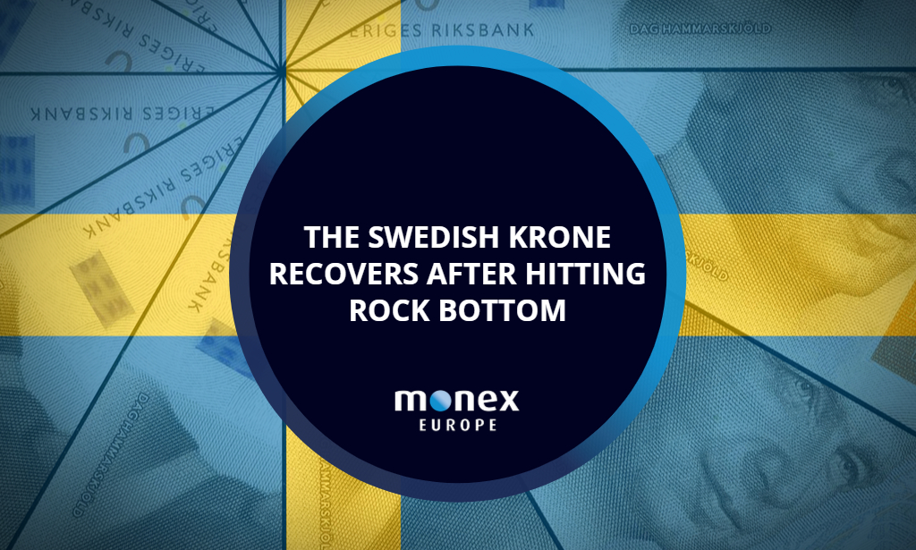 The Swedish krone recovers after hitting rock bottom