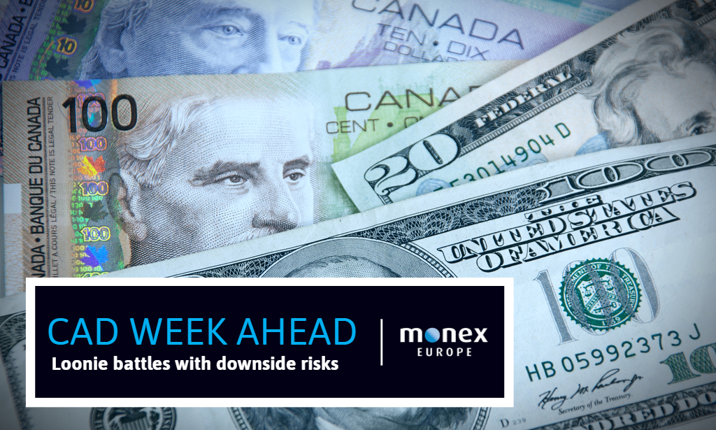 Loonie battles with downside risks; data may not be enough