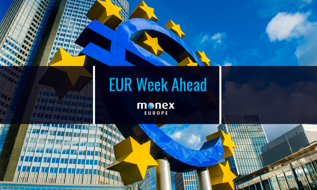 Euro looking steadier as ECB likely to strike upbeat message this week